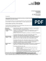 140422 - UKTI Internship Job Description