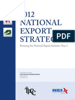 2012 National Export Strategy US