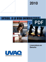 Introduccion a La Vida Universitaria
