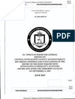 OFFICE OF INSPECTOR GENERAL - REPORT ON CENTRAL INTELLIGENCE AGENCY