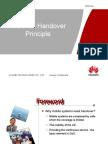 Principles of Handover in Wcdma