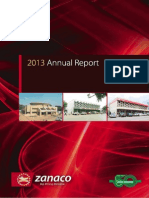 Zanaco Annual Report 2013