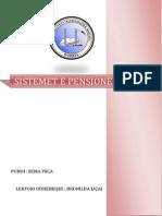 Sistemet e Pensioneve