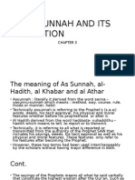 AS SUNNAH AND ITS POSITION.pptx