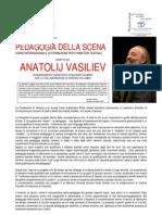 BANDO Pedagogia Della Scena. ANATOLIJ VASILIEV