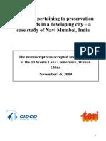 Wetland Challenges Paper Cidco