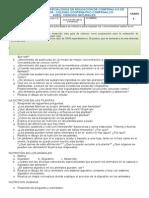 Refuerzo Ciencias Naturales IIP 5º