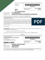 PUP Enrollment Payment Voucher