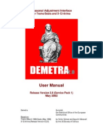 Demetra203 User Manual