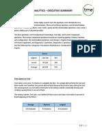 alphatest analytics executive summary