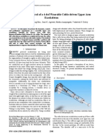 Dynamics and Control of a 4dof Wearable Cable-driven Upper Arm Exoskeleton-2009