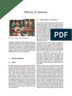History of Antomy