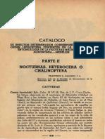 Catalogo Insectos Entomología