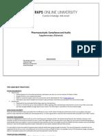 OnlineUniversity_Pharmaceuticals-ComplianceandAudits.pdf