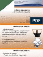Instrumentación Industrial - Medición de Presión