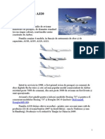 Airbus A320 , 1st year university project