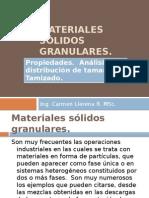 Materiales sólidos granulares