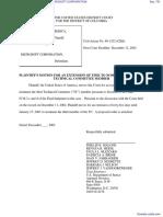 UNITED STATES OF AMERICA et al v. MICROSOFT CORPORATION - Document No. 751