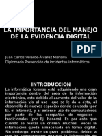 Evidencia digital pptx