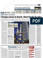 Il Giornale - Articolo -Provocazione ...Quella sovranità della moneta in mani private - 11-12-2009