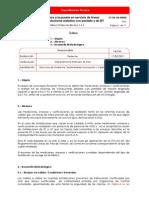 Ensayos Previos Puesta en Servicio de Líneas Eléctricas de Conductores Aislados Con Pantalla at y Conductores de BT (Aislamiento, Megado).1340124702_232201116197