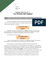 Psicología General - TP n°2 - La Ficción del Sujeto