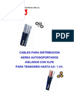 Cable Celsa Autoportantes