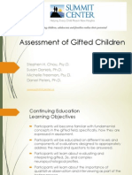 Assessment of Gifted Children