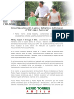 14-05-2015 Concurrida participación de vecinos de Francisco de Montejo en el 'Miércoles de Audiencias'