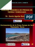Dr. Zenón Aguilar Bardales - Análisis Dinámico de Presas de Tierra y Enrocado
