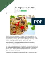 Arroz Chaufa vegetariano de Perú.docx
