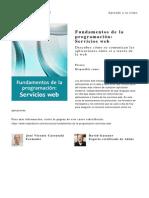 Fundamentos de La Programacion Servicios Web