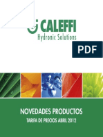 Caleffi Catalogo