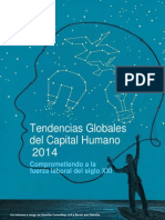 Tendencias Globales Del Capital Humano 2014