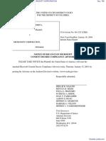 UNITED STATES OF AMERICA et al v. MICROSOFT CORPORATION - Document No. 795