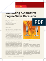 Engine Valve Recession, Case Study