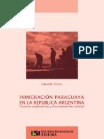 Inmigración Paraguaya en La República Argentina