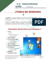 Trab 5 Escritorio de Windows 7