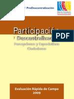 Participacion y Descentralizacion
