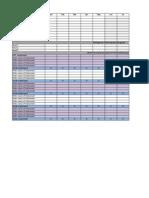 Finance Walk Monthly Planner