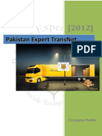 Pakistan TransportNET Profile
