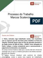 RQ e Simulados -Processo Do Trabalho - Aula 01 - Prof Marcos