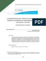 Las Deserciones en El Ejército Auxiliar Del Perú de Alejandro Morea_1349-4135-1-PB