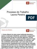 RQ e Simulados -Processo Do Trabalho - Aula 05 - Prof Leone