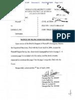 Digital Envoy, Inc. v. Google, Inc. - Document No. 4