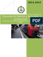 Encuesta Salarios Ingenieros Industriales Capv-navarra 2014-2015