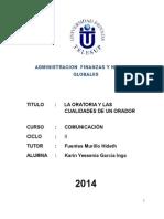 MONOGRAFIA - LA ORATORIA Y CUALIDADES DEL ORADOR.docx