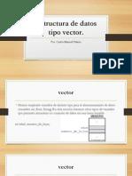 20 Taller Estructura de Datos Tipo Vector.pptx