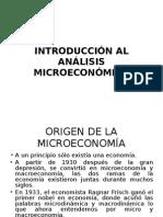 Economía Micro 1era a La 4ta Clase