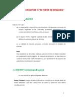Cargas de Circuitos y Factores de Demanda